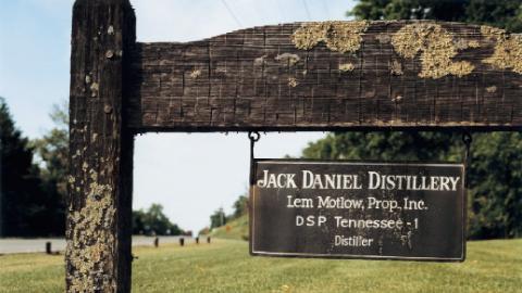Jack Daniels Distillery in Lynchburg