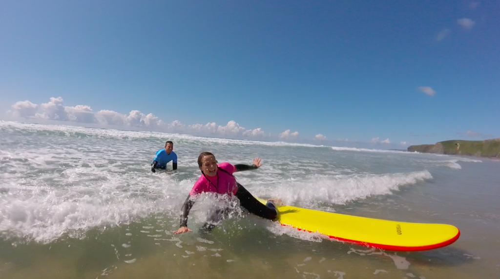 cornwall surfing