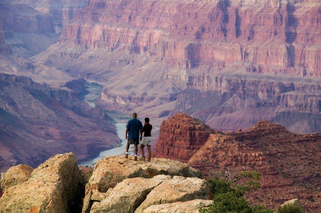 Grand Canyon Arizona. Viewpoint.