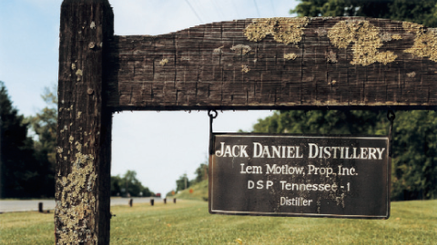 Jack Daniels Distillery in Lynchburg