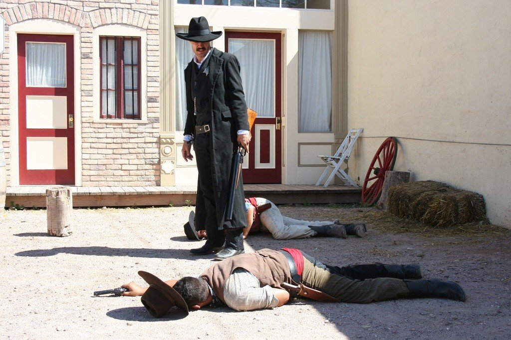 Tombstone gun fight